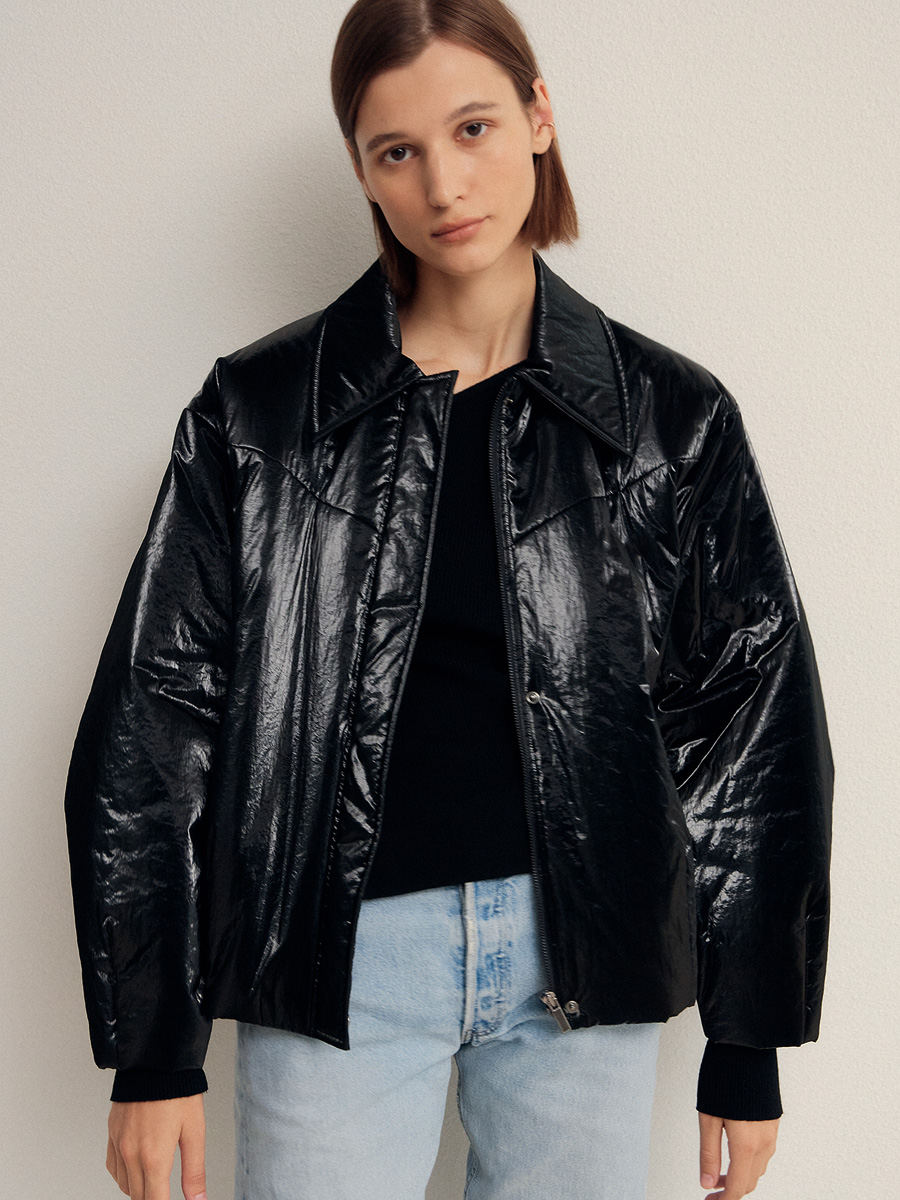 BLACK ISABEL PADDING JACKET