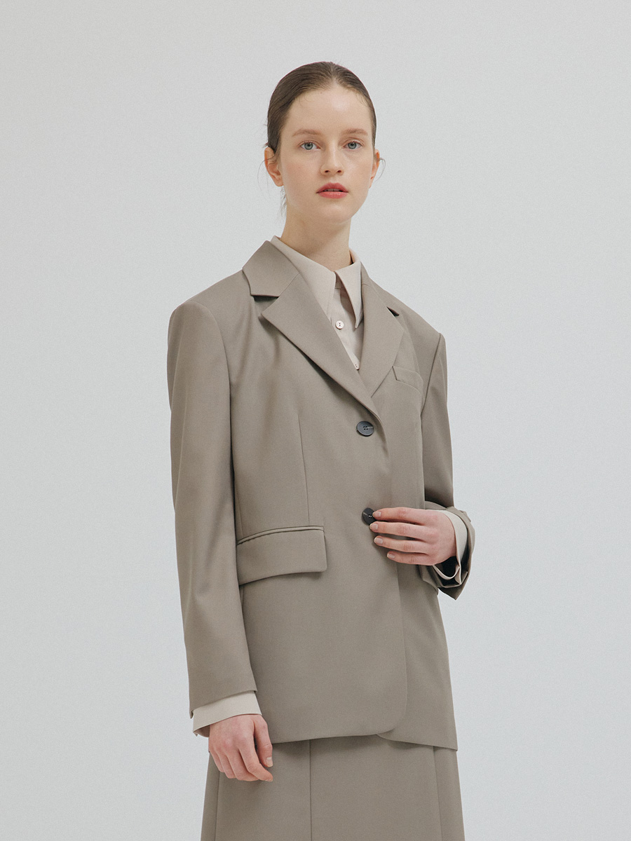 BEIGE DANI SINGLE JACKET